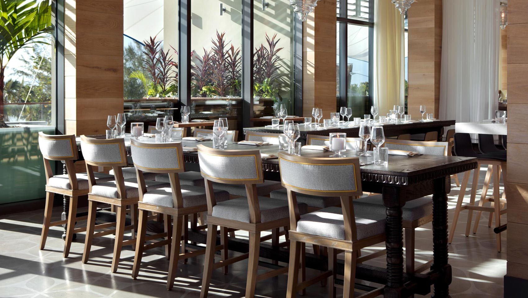 Ave Dining Room At Kimpton Seafire Resort And Spa