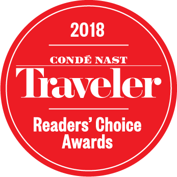 2018 Conde Nast Traveler Readers' Choice Awards