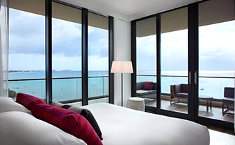 Ocean Front Two Bedroom Suite