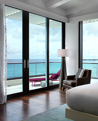 Hotel Suite with ocean view veranda